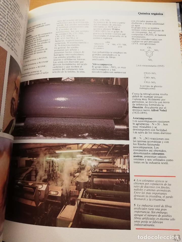 Libros de segunda mano de Ciencias: QUÍMICA (TOMO I + TOMO II) VIDEOENCICLOPEDIA MUY INTERESANTE - Foto 3 - 166724402
