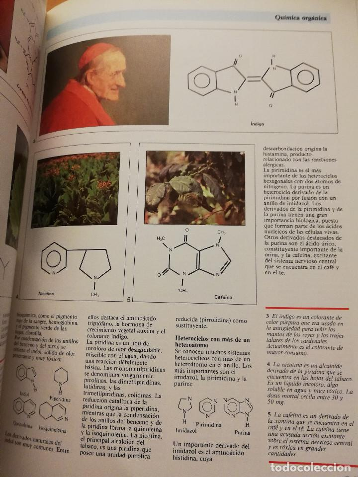 Libros de segunda mano de Ciencias: QUÍMICA (TOMO I + TOMO II) VIDEOENCICLOPEDIA MUY INTERESANTE - Foto 4 - 166724402