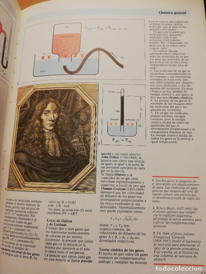 Libros de segunda mano de Ciencias: QUÍMICA (TOMO I + TOMO II) VIDEOENCICLOPEDIA MUY INTERESANTE - Foto 6 - 166724402