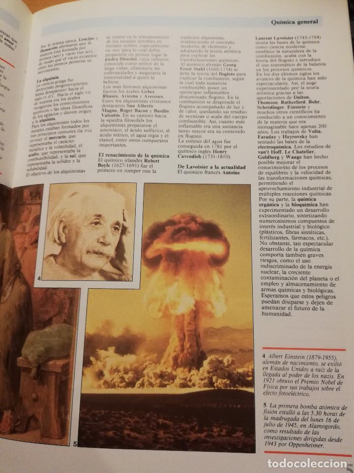 Libros de segunda mano de Ciencias: QUÍMICA (TOMO I + TOMO II) VIDEOENCICLOPEDIA MUY INTERESANTE - Foto 7 - 166724402