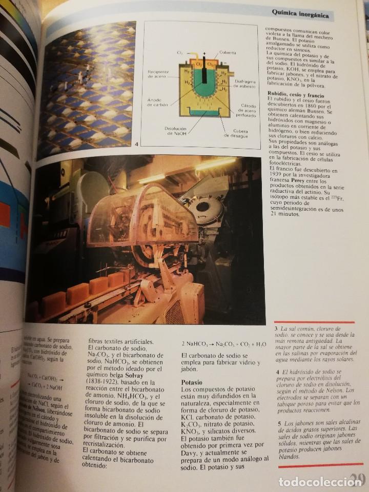 Libros de segunda mano de Ciencias: QUÍMICA (TOMO I + TOMO II) VIDEOENCICLOPEDIA MUY INTERESANTE - Foto 9 - 166724402