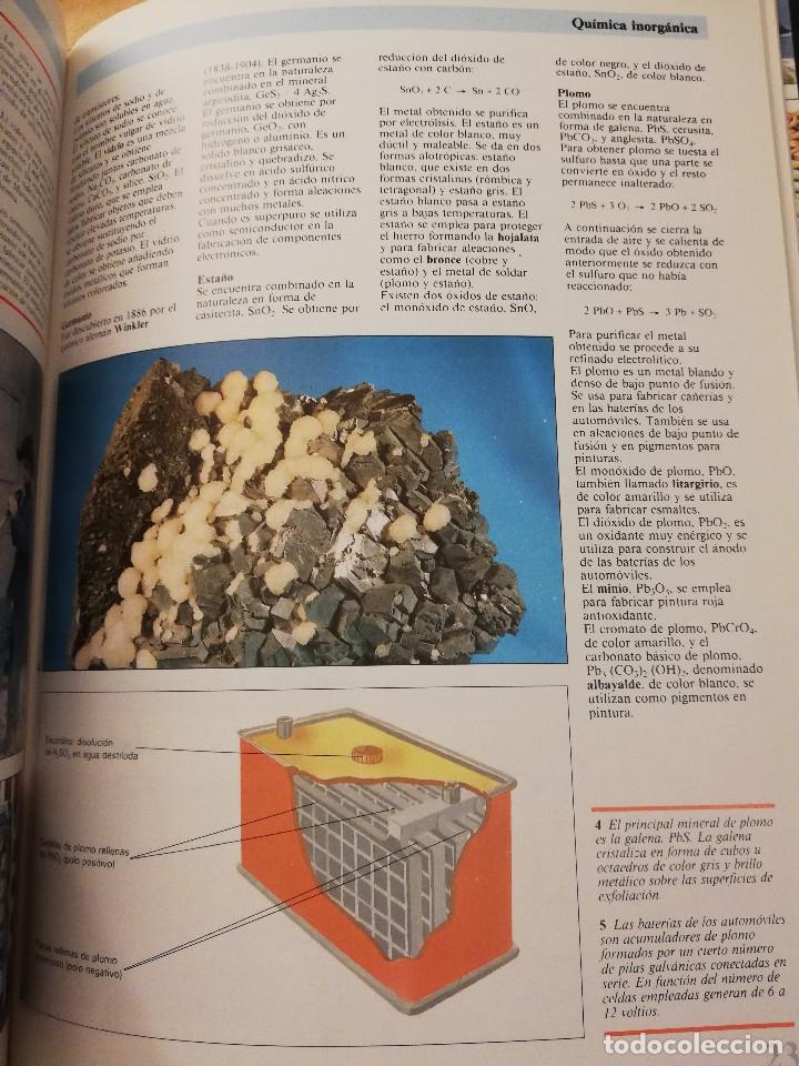 Libros de segunda mano de Ciencias: QUÍMICA (TOMO I + TOMO II) VIDEOENCICLOPEDIA MUY INTERESANTE - Foto 10 - 166724402