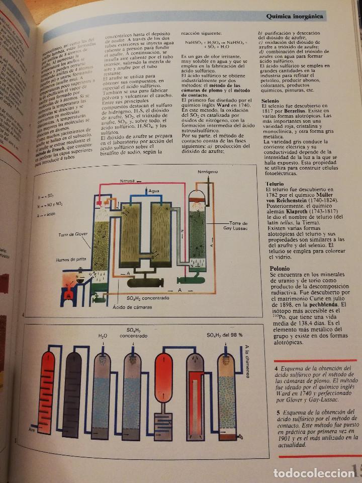 Libros de segunda mano de Ciencias: QUÍMICA (TOMO I + TOMO II) VIDEOENCICLOPEDIA MUY INTERESANTE - Foto 11 - 166724402
