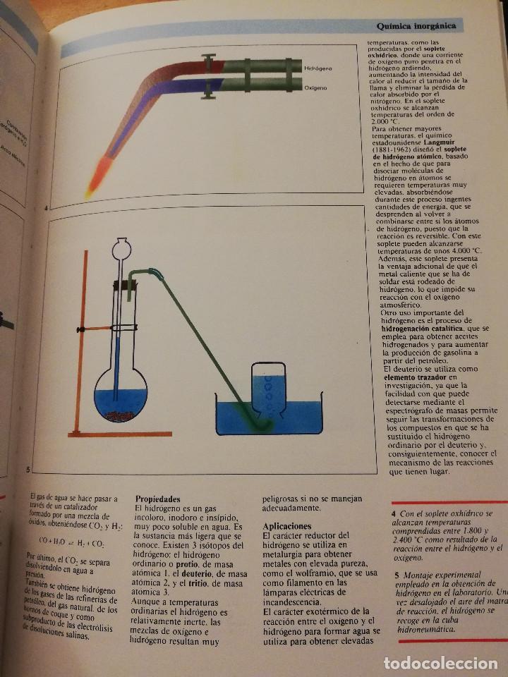 Libros de segunda mano de Ciencias: QUÍMICA (TOMO I + TOMO II) VIDEOENCICLOPEDIA MUY INTERESANTE - Foto 13 - 166724402
