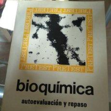 Libros de segunda mano de Ciencias: BIOQUÍMICA, AUTOEVALUACIÓN Y REPASO. MC-GRAW-HILL. Lote 166845682