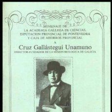 Libros de segunda mano: CRUZ GALLATEGUI UNAMUNO. METODOS PARA AUMENTAR LA PRODUCCION DEL MAIZ. ED. D. PONTEVEDRA. GALICIA.. Lote 166846590