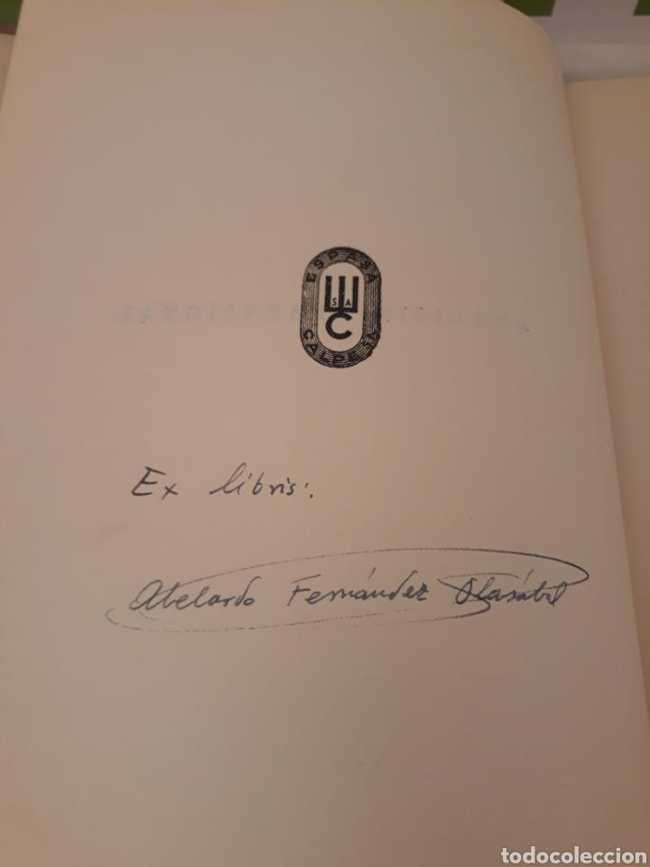 Libros de segunda mano de Ciencias: Analisis dimensional.Julio Palacios.1956 Espasa. - Foto 3 - 166885889