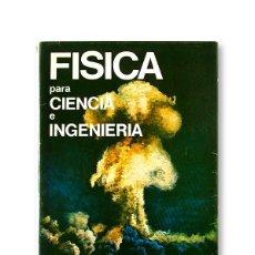 Libros de segunda mano de Ciencias: FÍSICA PARA CIENCIA E INGENIERÍA - LUIS DEL ARCO VICENTE. Lote 166993064
