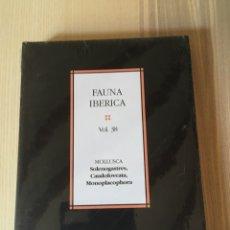 Libros de segunda mano: FAUNA IBÉRICA - 38 - MOLLUSCA - CSIC - CIENCIAS NATURALES. Lote 167020513