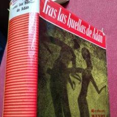 Libros de segunda mano: TRAS LAS HUELLAS DE ADÁN POR HERBERT WENDT EDITORIAL NOGUER PRIMERA EDICIÓN. Lote 167039334