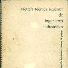 Libros de segunda mano de Ciencias: APUNTES DE ELECTROTECNIA GENERAL I-II. ESCUELA SUPERIOR DE INGENIEROS INDUSTRIALES BARCELONA.. Lote 167503720