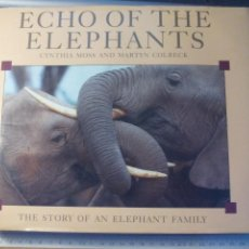 Libros de segunda mano: ECHO OF THE ELEPHANTS. CYNTHIA MOSS AND MARTYN COLBECK THE STORY OF AN ELEPHANT FAMILY 1992 BBC BOOK. Lote 167870324
