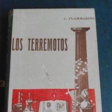 Libros de segunda mano: LOS TERREMOTOS TOMO 1 AUTOR C FLAMMARION PASTAS DURAS. Lote 194063695