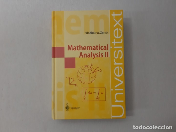 Mathematical Analysis II (Universitext)