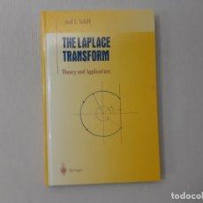 Libros de segunda mano de Ciencias: THE LAPLACE TRANSFORM: THEORY AND APPLICATIONS (UNDERGRADUATE TEXTS IN MATHEMATICS) POR JOEL L. SCHI. Lote 167963041