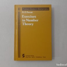 Libros de segunda mano de Ciencias: EXERCISES IN NUMBER THEORY POR D-P PARENT (1984) - PARENT, D-P. Lote 167963057
