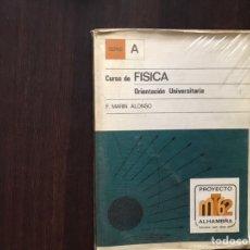 Libros de segunda mano de Ciencias: CURSO DE FÍSICA. ORIENTACIÓN UNIVERSITARIA. F. MARÍN ALONSO. ALHAMBRA. Lote 167979098