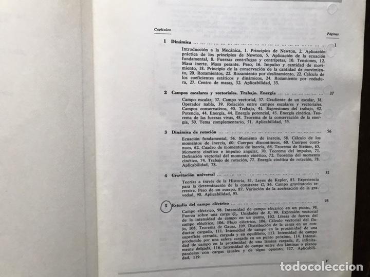 Libros de segunda mano de Ciencias: Curso de física. Orientación universitaria. F. Marín Alonso. Alhambra - Foto 3 - 167979098