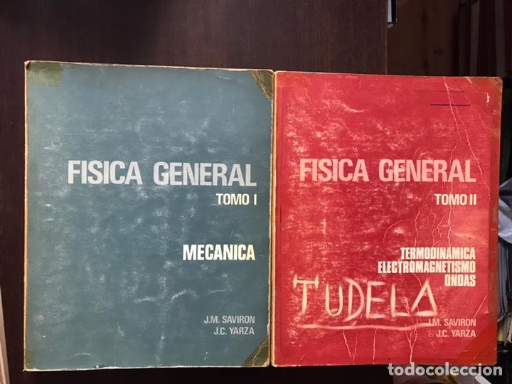 FÍSICA GENERAL TOMO I: MECÁNICA. TOMO II: TERMODINÁMICA. MUY DIFÍCIL (Libros de Segunda Mano - Ciencias, Manuales y Oficios - Física, Química y Matemáticas)