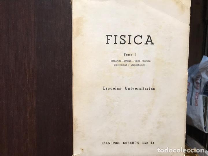 FÍSICA. TOMO I. MECÁNICA. ONDAS. CALOR. ELECTRICIDAD. FRANCISCO CORCHÓN (Libros de Segunda Mano - Ciencias, Manuales y Oficios - Física, Química y Matemáticas)