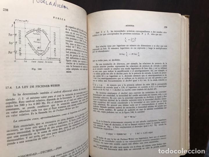 Libros de segunda mano de Ciencias: Física. Tomo I. Mecánica. Ondas. Calor. Electricidad. Francisco Corchón - Foto 5 - 167980046