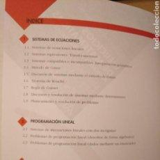Libros de segunda mano de Ciencias: EJERCICIOS DE MATEMÁTICAS APLICADAS CIENCIAS SOCIALES. MÉTODO GAUSS. ANAYA. Lote 195081098