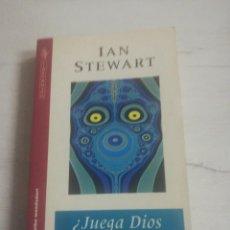 Libros de segunda mano de Ciencias: IAN STEWART, ¿ JUEGA DIOS A LOS DADOS? . Lote 168124212