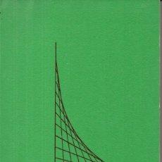 Libros de segunda mano de Ciencias: TEBAR FLORES : PROBLEMAS DE MATEMÁTICAS - ÁLGEBRA LINEAL Y CÁLCULO INFINITESIMAL (1971). Lote 168241284