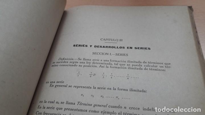 Libros de segunda mano de Ciencias: CURSO DE CÁLCULO MATEMÁTICO, Mauricio Laboureur 1944 - Foto 6 - 168314680
