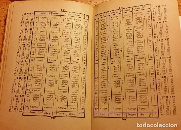 Libros de segunda mano de Ciencias: TABLAS LOGARITMOS VULGARES - Foto 4 - 168545188