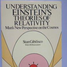 Libros de segunda mano de Ciencias: UNDERSTANDING EINSTEIN'S THEORIES OF RELATIVITY - GIBILISCO, STAN. Lote 168588098