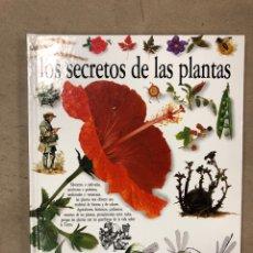 Libros de segunda mano: LOS SECRETOS DE LAS PLANTAS. DAVID BURNIE. BIBLIOTECA VISUAL ALTEA 1990. TAPA DURA. ILUSTRADO. Lote 169121405
