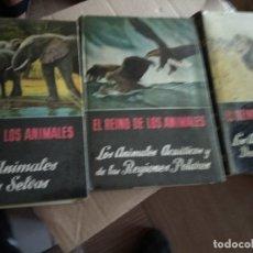 Libros de segunda mano: EL REINO DE LOS ANIMALES 3T POR BERGER Y SCHMID DE ED. ESPASA CALPE. Lote 169139508