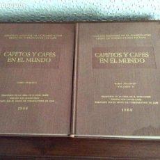 Libros de segunda mano: CAFETOS Y CAFÉS EN EL MUNDO GRUPO DE TORRE FACTORES DE CAFÉ 1964 RENÉ COSTE OBRA COMPLETA. Lote 169188608