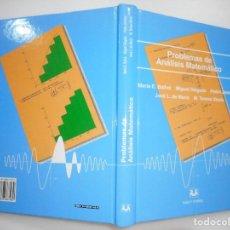 Libros de segunda mano de Ciencias: BALLVÉ ,DELGADO, JIMENEZ, DE MARÍA Y ULECIA PROBLEMAS DEL ANÁLISIS MATEMÁTICO Y94828. Lote 169410560