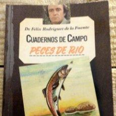 Libros de segunda mano: CUADERNOS DE CAMPO Nº 14.-PECES DE RÍO. POR FELIX RODRÍGUEZ DE LA FUENTE.. Lote 169580520
