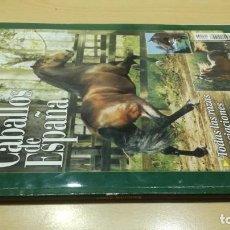 Livres d'occasion: CABALLOS DE ESPAÑA/ GUIA PRACTICA CRIA / 2001/ / H101. Lote 169695400