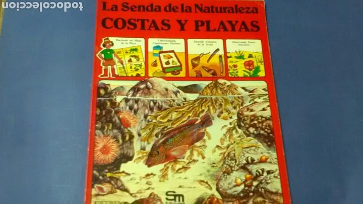 LA SENDA DE LA NATURALEZA .COSTAS Y PLAYAS .ED.PLESA - SM (Libros de Segunda Mano - Ciencias, Manuales y Oficios - Biología y Botánica)