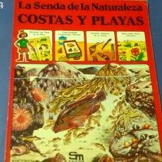 Libros de segunda mano: LA SENDA DE LA NATURALEZA .COSTAS Y PLAYAS .ED.PLESA - SM. Lote 169873454