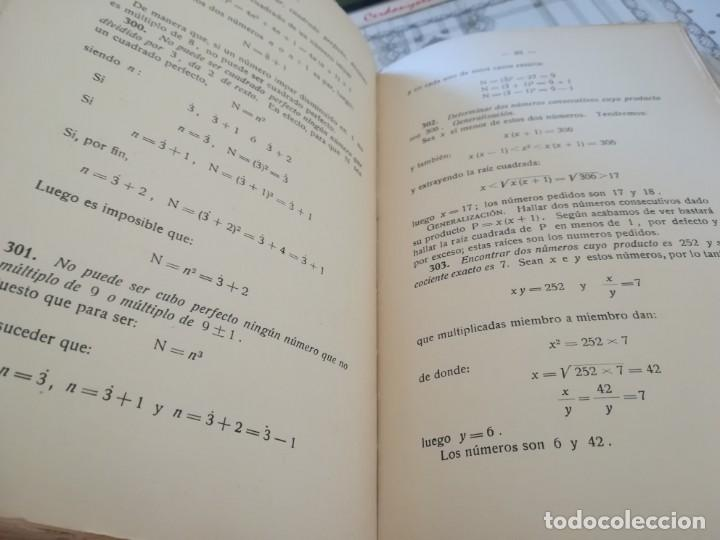 Libros de segunda mano de Ciencias: Matemáticas y sus complementos. Ejercicios prácticos - 1952 - Foto 10 - 169910276