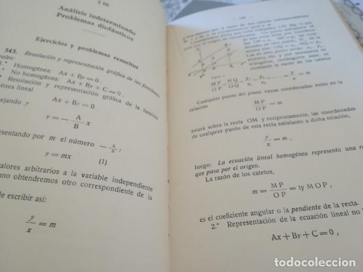 Libros de segunda mano de Ciencias: Matemáticas y sus complementos. Ejercicios prácticos - 1952 - Foto 11 - 169910276