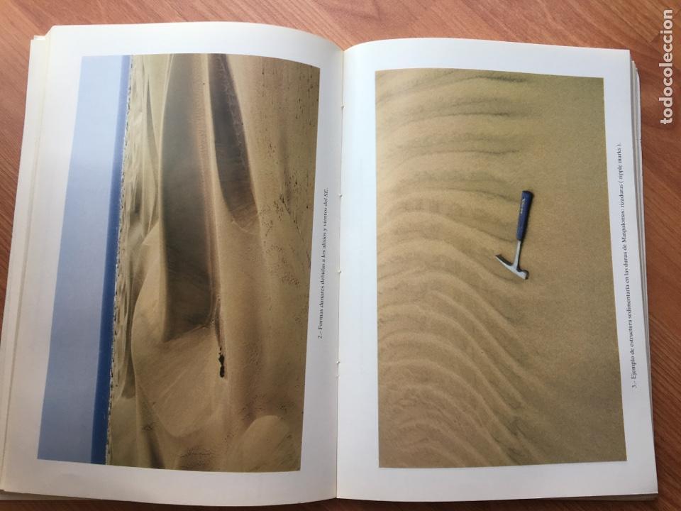 Libros de segunda mano: LAS DUNAS DE MASPALOMAS: GEOLOGIA E IMPACTO DEL ENTORNO. universidad politécnica las Palmas - Foto 4 - 169951152