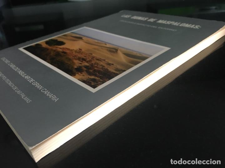 Libros de segunda mano: LAS DUNAS DE MASPALOMAS: GEOLOGIA E IMPACTO DEL ENTORNO. universidad politécnica las Palmas - Foto 7 - 169951152
