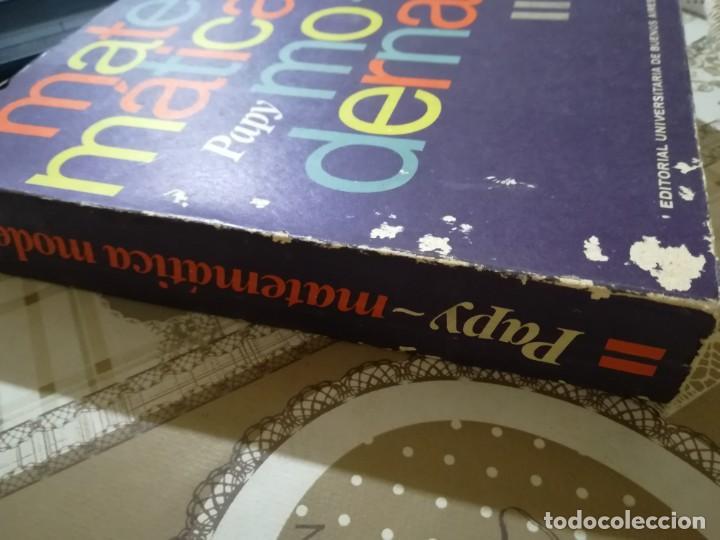 Libros de segunda mano de Ciencias: Matemática moderna - Papy - Editorial Universitaria de Buenos Aires 1970 - Foto 3 - 170006960