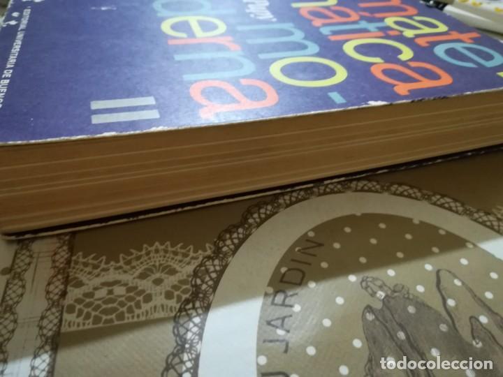 Libros de segunda mano de Ciencias: Matemática moderna - Papy - Editorial Universitaria de Buenos Aires 1970 - Foto 4 - 170006960