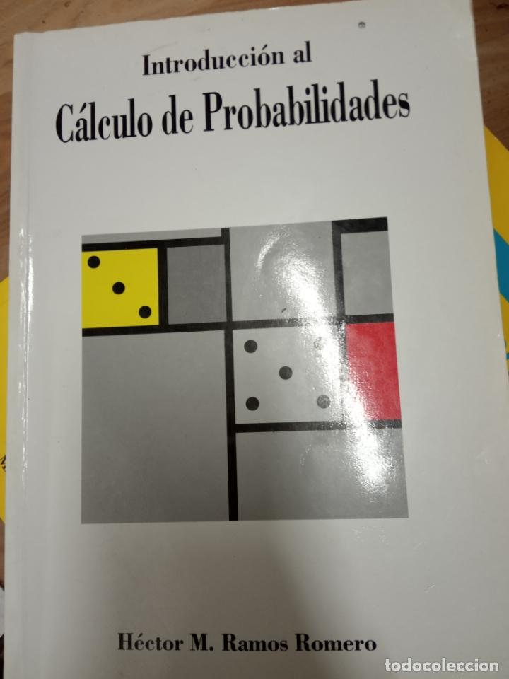 INTRODUCCION AL CALCULO DE PROBABILIDADES -HECTOR M. RAMOS ROMERO . (Libros de Segunda Mano - Ciencias, Manuales y Oficios - Física, Química y Matemáticas)