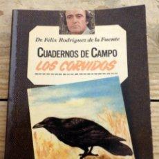 Libros de segunda mano: LOS CÓRVIDOS - CUADERNOS DE CAMPO - Nº 17 - FÉLIX RODRÍGUEZ DE LA FUENTE. Lote 170066632