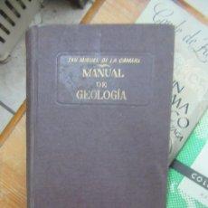 Libros de segunda mano: LIBRO MANUAL DE GEOLOGÍA SAN MIGUEL DE LA CAMARA 1938 MARÍN L-6922-509. Lote 170069616