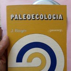Libros de segunda mano: PALEOECOLOGÍA PALEONTOLOGÍA FÓSILES ECOLOGÍA. Lote 170082265