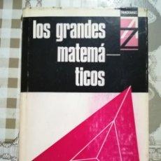 Libros de segunda mano de Ciencias: LOS GRANDES MATEMÁTICOS - H.W. TURNBULL - 1ª EDICIÓN 1968. Lote 170194044